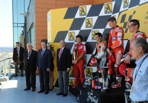 "Featured Image - ""Creative Commons Gran Premio de Aragón de MotoGP Podio de la carrera de MotoGP"" by José Ángel Biel Rivera is licensed under CC BY 2.0"
