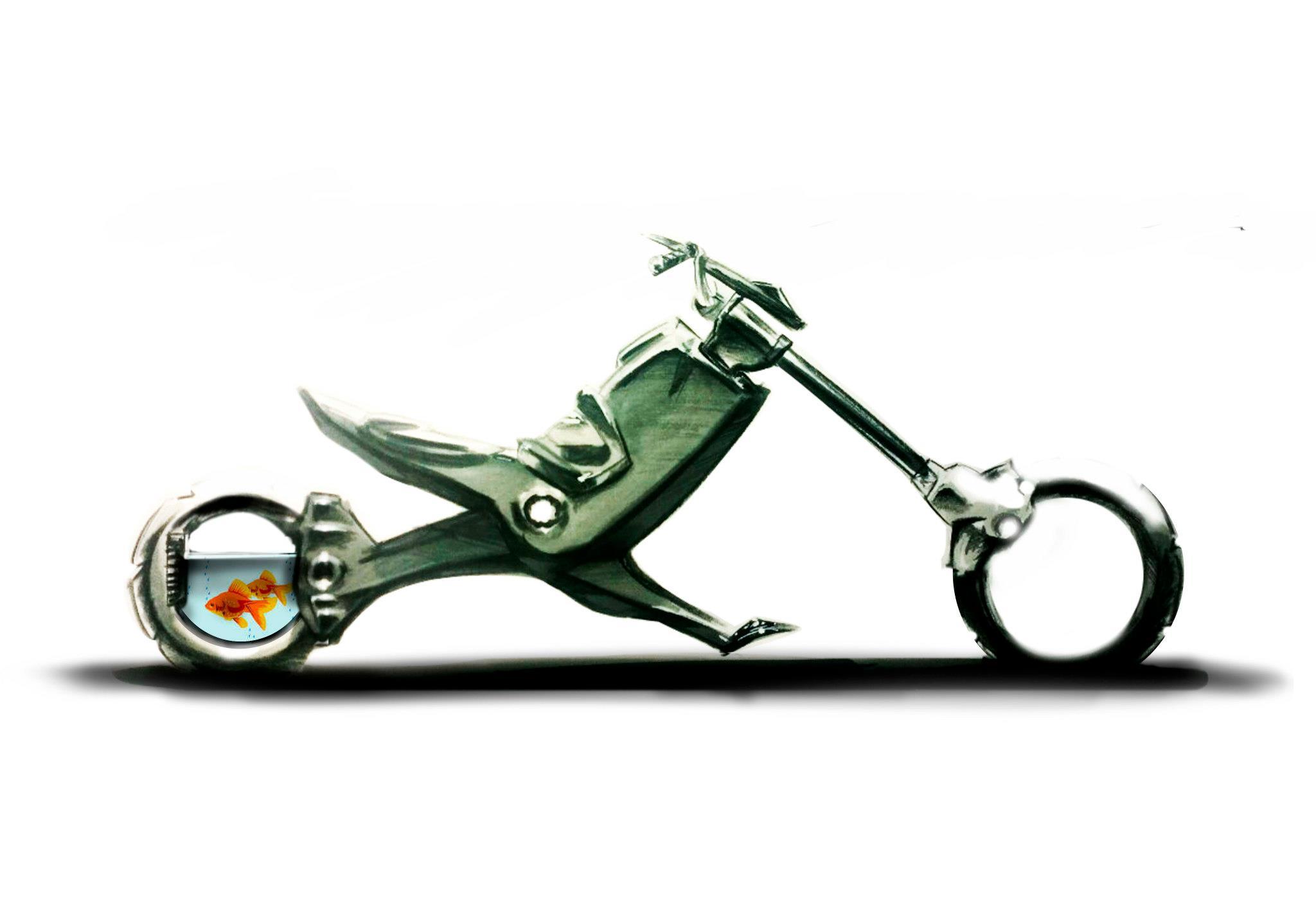 Peik Olsen fish powered chopper
