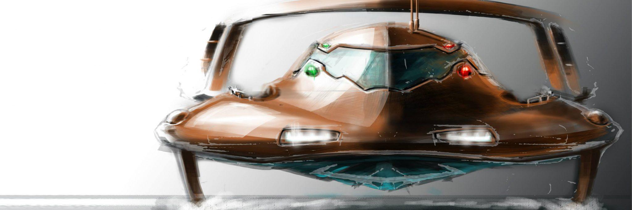 Peik Olsen hydrofoil boat
