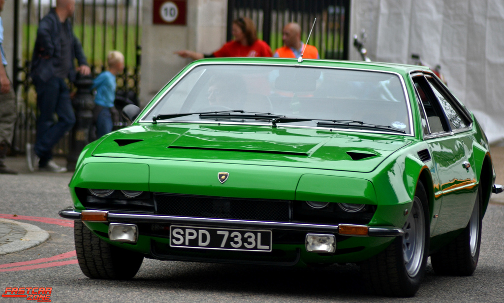"""Lamborghini Jarama"" by Mark Holloway is licensed under CC BY 2.0"