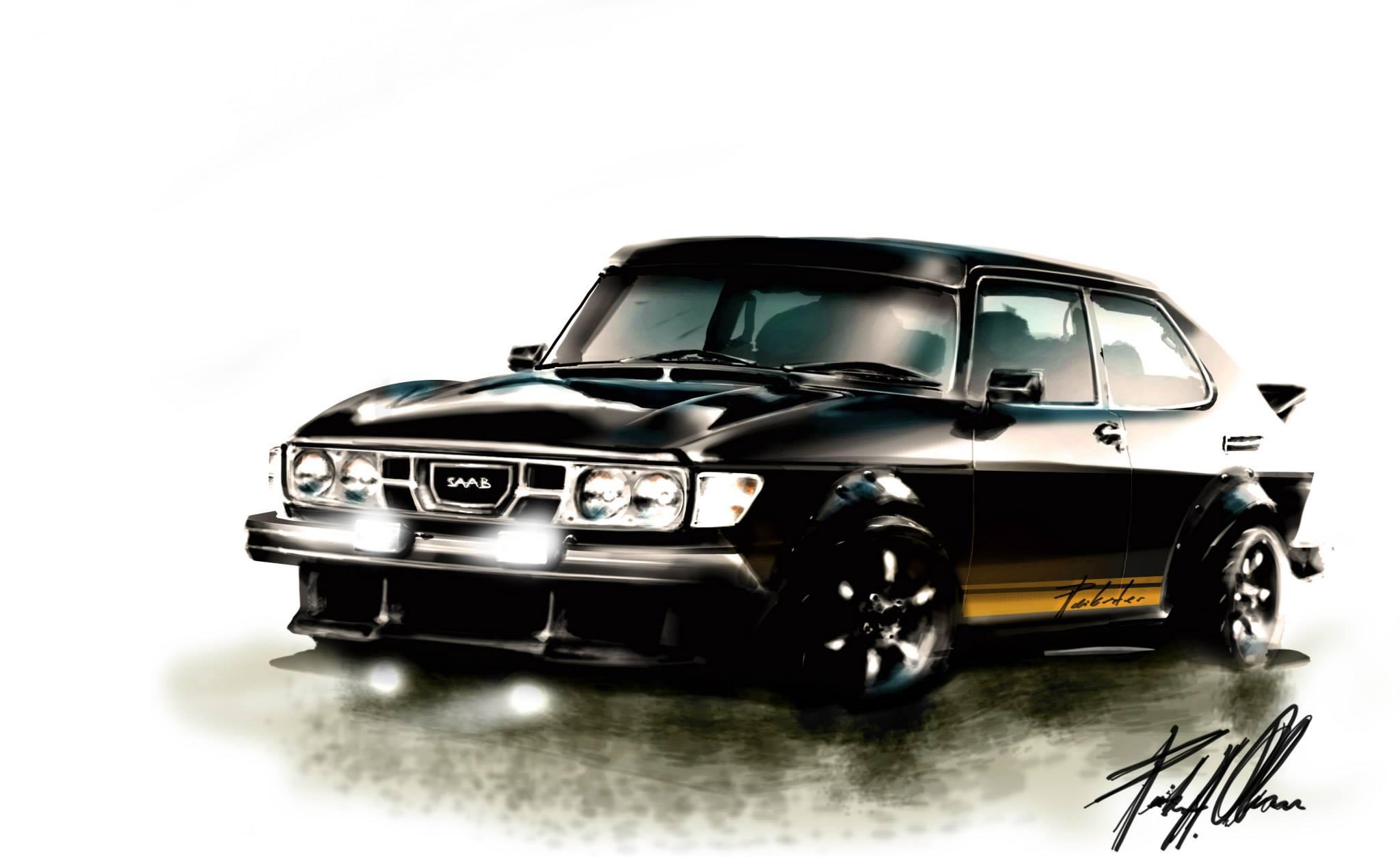 Peik Olsen Saab 99 concept