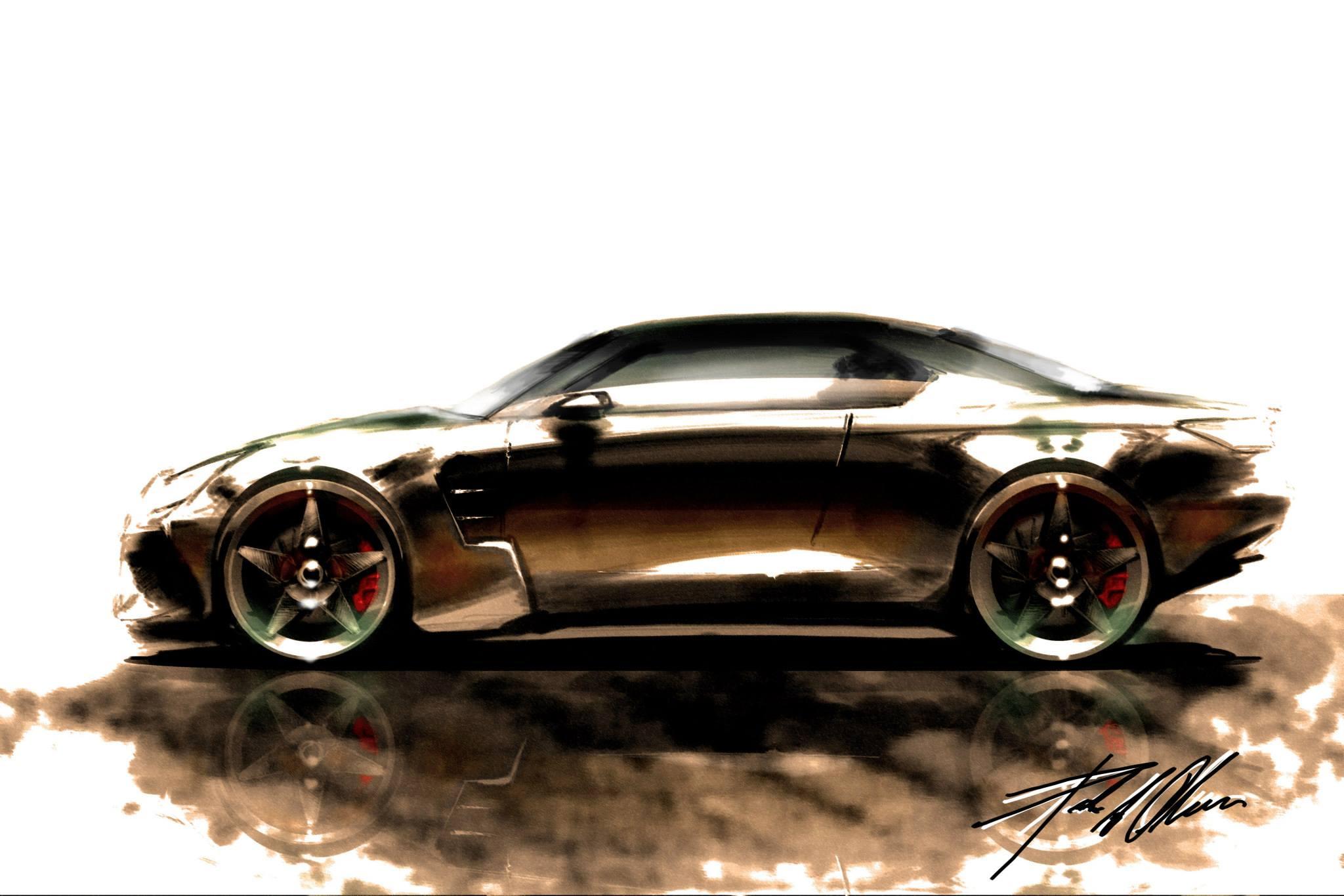 Peik Olsen side profile car