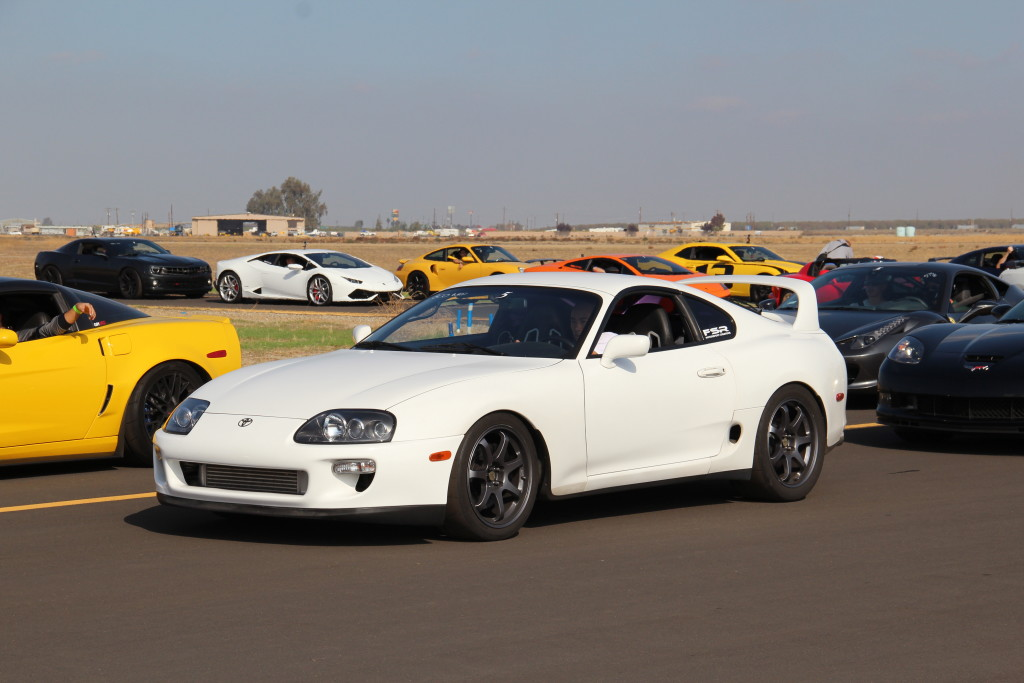 Profile shot of ice1cube's MKIV Toyota Supra