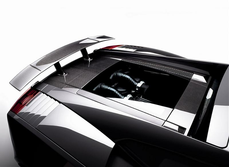 2008-Lamborghini-Gallardo-Superleggera-Polycarbonate-Carbon-Fiber-engine-cover