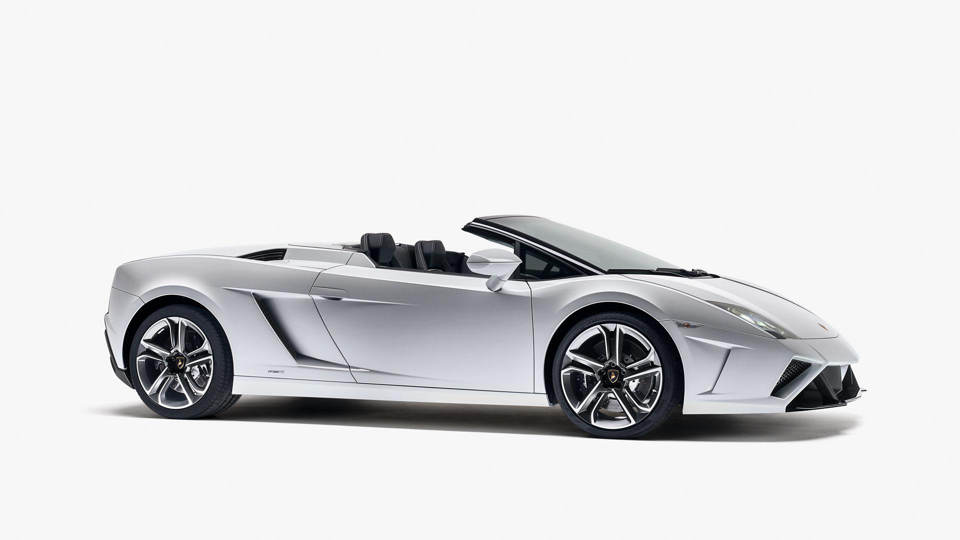 side profile of a 2013lamborghini gallardo lp560 4 spyder - Lamborghini Gallardo Spyder Black 2013