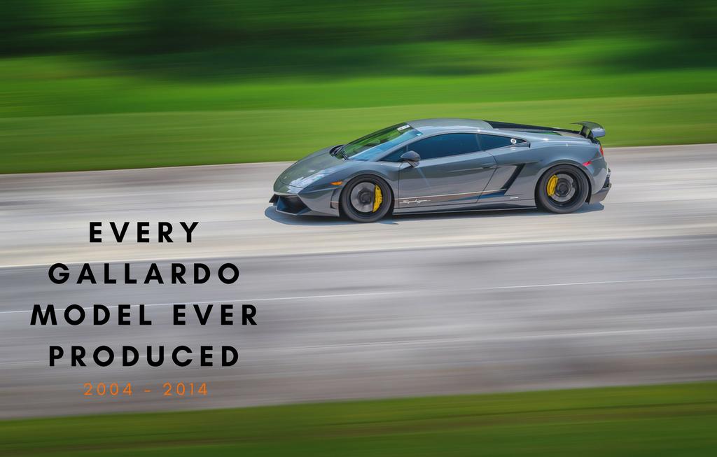 Every Lamborghini Gallardo Model Ever Produced Car Crazy Dan